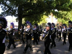 TBHS marching band - sadly I know none of these kids.